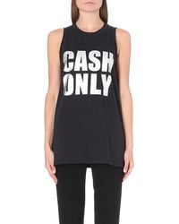 3.1 Phillip Lim Cash Only Sleeveless Top Black - Lyst