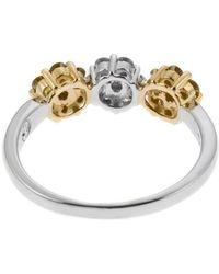 Charriol | Women's 18k White And Yellow Gold Diamond Ring | Lyst
