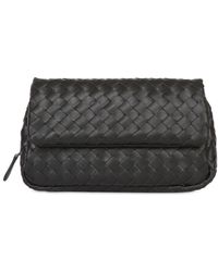 Bottega Veneta Woven Nappa Leather Shoulder Bag - Lyst