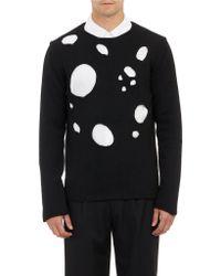 Comme Des Garçons Grungehole Sweater - Lyst