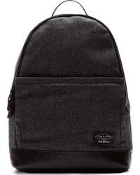Rag & Bone Teal Twill Rugged Backpack - Lyst