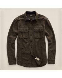 RRL Brown Endurance Workshirt - Lyst