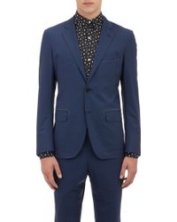 Tomorrowland Loro Piana Micro-Check Two-Button Sportcoat - Lyst
