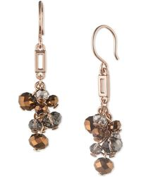 Anne Klein - Cluster Earrings - Lyst