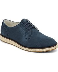Camper Nubuck Wedge Derby - For Men, Navy Blue - Lyst