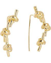 Jennifer Fisher Triple Knot Earrings - Lyst