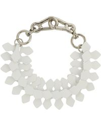 Moxham - Kline Adjustable Laser-Cut Necklace - Lyst