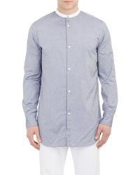 Rag & Bone Blue Mulholland Shirt - Lyst