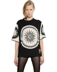 Fausto Puglisi Limited Edition Printed Cotton Tshirt - Lyst