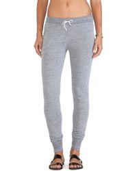 Daftbird Gray Drawstring Pants - Lyst