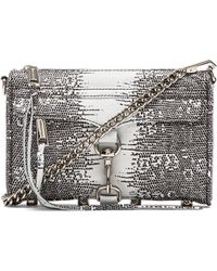 Rebecca Minkoff Printed Lizard Mini Mac - Lyst
