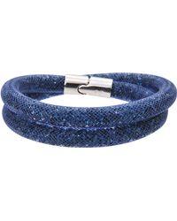 Swarovski - Stardust Crystal Wrap Bracelet - Lyst