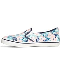 Brooks Brothers - Hibiscus Print Sneakers - Lyst