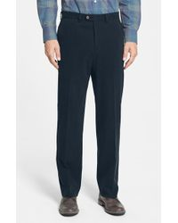 Tommy Bahama 'Coastal' Silk Blend Twill Pants blue - Lyst
