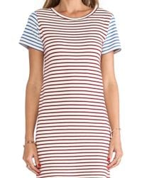 The Lady & The Sailor Blue Shift Dress - Lyst
