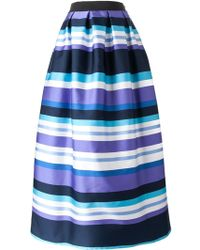 P.A.R.O.S.H. Long Full Skirt - Lyst