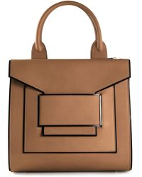Pierre Hardy Brown Square Totes - Lyst