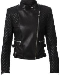 Barbara Bui B Leather Jacket - Lyst