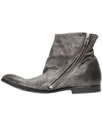 The Last Conspiracy Vintage Horse Suede Ankle Boots - Lyst