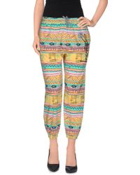Stussy 3/4-Length Trousers multicolor - Lyst