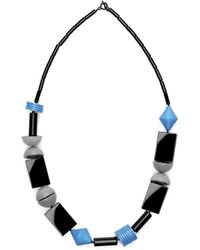 Scenery Label - Bead Necklace Oblong - Lyst