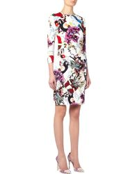 Mary Katrantzou Milano Cardigan Anthozoa Berry multicolor - Lyst
