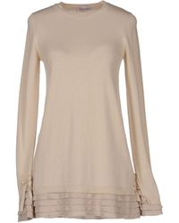 RED Valentino Long Sleeve Sweater - Lyst