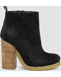 AllSaints Lakote Boot black - Lyst