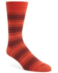 Etiquette - 'tokyo' Stripe Socks - Lyst