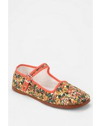 Urban Outfitters Printed Mary Jane - Lyst