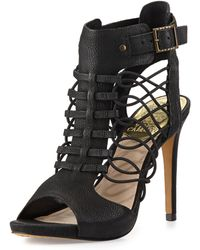 Vince Camuto Fossel Cage Heel Sandal - Lyst