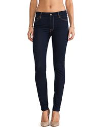 7 For All Mankind High Waisted Skinny - Lyst