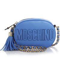 Moschino Mini Tasseled Crossbody Bag - Lyst