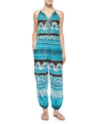 Calypso St. Barth - Multipattern Cappi Jumpsuit - Lyst