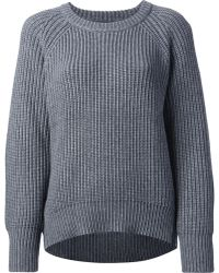 Theyskens' Theory Thick Knit Sweater - Lyst