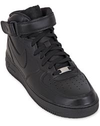 Nike Air Force 1 Leather High Top Sneakers - Lyst