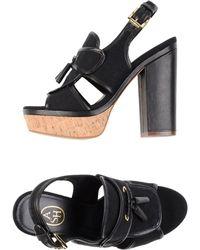 Ash Sandals black - Lyst