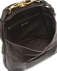 Rachel Zoe Arizona Northsouth Leather Hobo Bag - Lyst