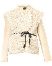 Isabel Marant Drew Shearling Jacket - Lyst