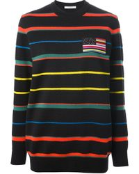 Givenchy Striped Sweater - Lyst