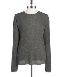 John Varvatos - Waffle-knit Sweater - Lyst