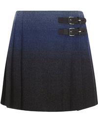 RED Valentino Degradã Wool-blend Kilt - Lyst