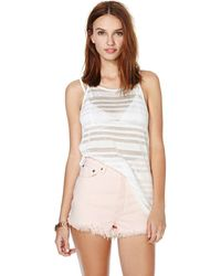 Nasty Gal Dakota Collective Cher Skinny Tank - Lyst
