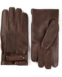 Giorgio Armani - Buckled Gloves - Lyst