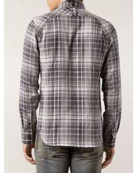 Denham - Plaid Shirt - Lyst