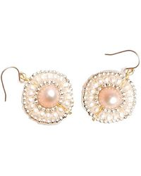 Nakamol - Hetty Earrings-White Pearl - Lyst