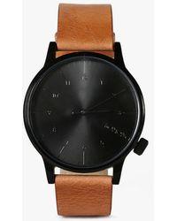 Komono Winston Watch brown - Lyst
