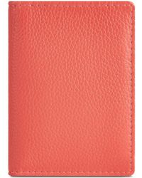 Jaeger | Leather Folding Card Holder | Lyst
