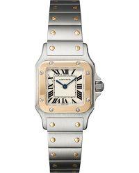 Cartier Santos De Galbée Small Watch - For Men silver - Lyst