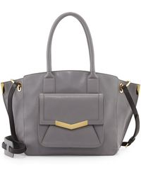 Time's Arrow - Jo Medium Leather Tote Bag - Lyst